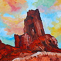 Monument Valley Standing Tall by Maureen Janssens