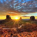 Monument Valley Sunrise by Mark Whitt