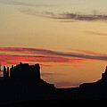Monument Valley Sunset 1 by Jeff Brunton