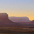 Monument Valley Sunset 3 by Mike McGlothlen