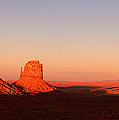 Monument Valley Sunset Pano by Jane Rix