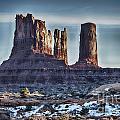 Monument Valley -utah V17 by Douglas Barnard