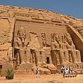 Monumental Abu Simbel by John Malone
