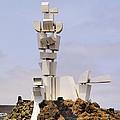 Monumento Al Campesino On Lanzarote by Karol Kozlowski