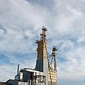 Moody Feed Tower by Big Texas Sky Prints