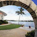 Moon Gate In Bermuda by George Oze