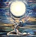 Moon Goddess by Karen  Ferrand Carroll