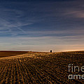 Moon Lit Night On The Palouse by Beve Brown-Clark Photography