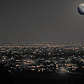 Moon Over Fort Collins by David Kehrli