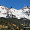 Moon Over Lizard Head Pass by Jim Garrison