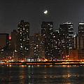 Moon Over Manhattan by Steve Archbold