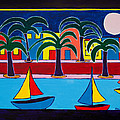 Moon Over Miami by Marlene MALKA Harris