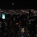 Moon Over New York City by RicardMN Photography
