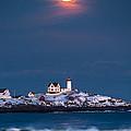 Moon Over Nubble by Benjamin Williamson