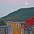 Moon Over Saint John's-nl by Ruth Hager