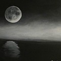 Moon Over The Shores by Barbie Baughman