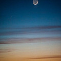 Moon Rise In Texas by Sean Wray