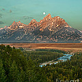 Moon Setting by Robert Bales