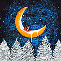 Moon Sledding by Todd Young