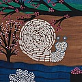 Moon Snail Bella Coola by Barbara St Jean