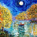 Moonlight Fishing by Karen Tarlton