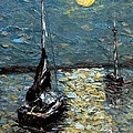 Moonlight by Galina Khlupina