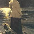 Moonlight by Ilya Repin