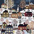 Moonlight In Vermont by Medana Gabbard