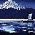 Moonlight On Fujiyama by Pg Reproductions