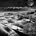 Moonlight On The Bay by Robert McCubbin