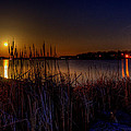 Moonlight On The Lake by David Dufresne