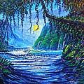 Moonlight Path To Paradise by Joseph   Ruff