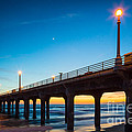 Moonlight Pier by Inge Johnsson