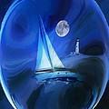 Moonlight Sail by Yvonne Della-Moretta