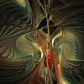 Moonlight Serenade Fractal Art by Karin Kuhlmann