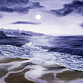 Moonlight Sonata Over Carmel by Laura Iverson