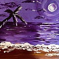 Moonlit Beach by Melissa Darnell Glowacki