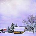 Moonlit Farm by Theresa Tahara