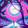 Moonlit Forest by Casoni Ibolya