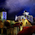 Moonlit Fort by Chris Knights