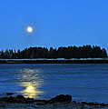 Moonrise Acadia National Park by Glenn Gordon