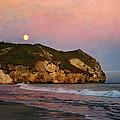 Moonrise At Avila Beach by Nikolyn McDonald