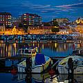 Moonrise In Karlskrona by Inge Johnsson