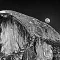 Moonrise Over Half Dome by Terry Garvin