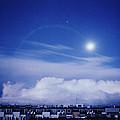 Moonrise Over Nova Harfa by Alexander Kurganov