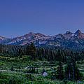 Moonrise Over Tatoosh by Chris McKenna