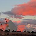 Moonrise - Sydney Opera House by Andre Distel