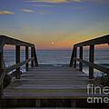 Moonrise V by Bruce Bain
