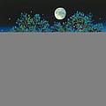 Moonshine Sonata, 2006 Oil On Canvas by Magdolna Ban