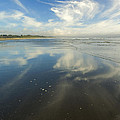 Moonstone Beach Reflections by Mike  Dawson